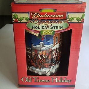2003 Budweiser Stein